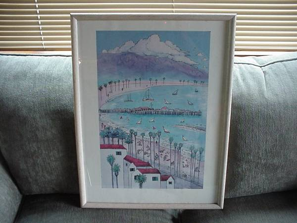 Photo Santa Barbara Poster by Daniel Randolph - $60 (goleta)
