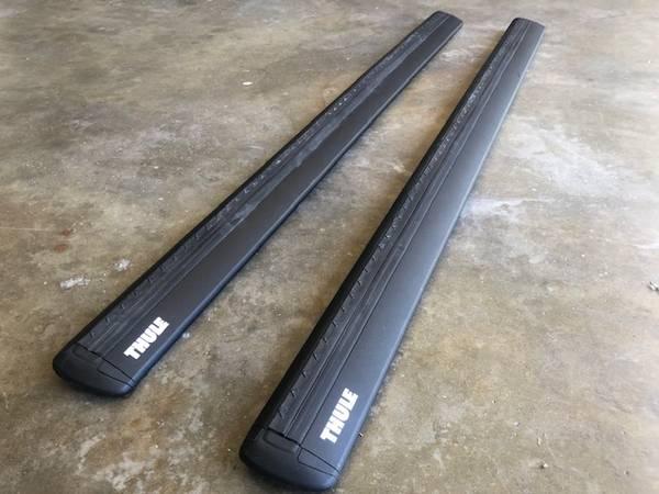 Photo Thule WingBar Evo 47quot Roof Rack Bars - $100 (Santa Barbara)
