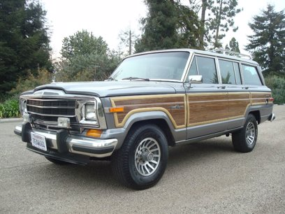 Photo Used 1991 Jeep Grand Wagoneer  for sale