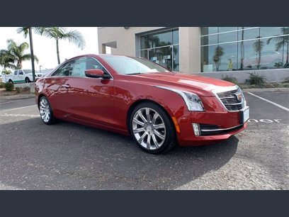 Photo Used 2016 Cadillac ATS 2.0T Premium Coupe for sale