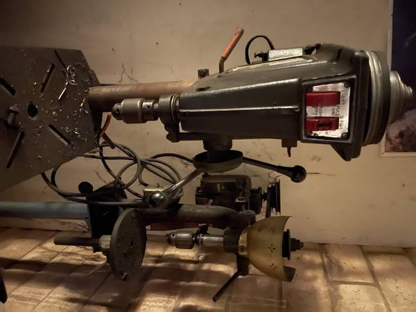 Photo Vintage Craftsman Drill Press - $100 (Santa Barbara)
