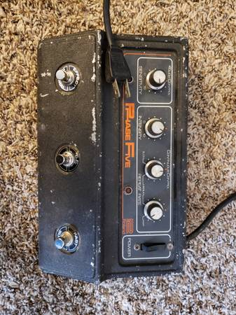 Photo Vintage Roland AP-5 Phase Five pedal - $350 (Ventura)