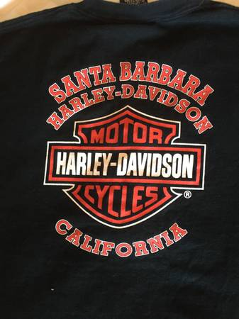 Photo Vintage Santa Barbara Harley shirt pre owned - $15 (Carpinteria)