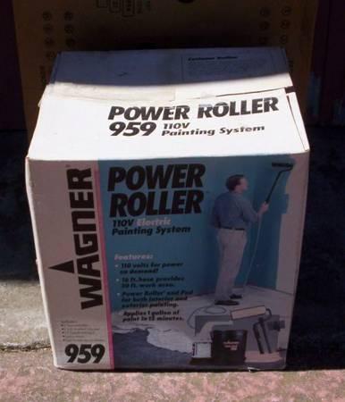 Photo Wagner 959 Power Roller Paint New in Box - $30 (Goleta)