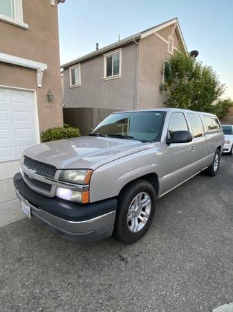 Photo - 2004 Chevy Silverado 1500 extended cab with cer shell - - $8,900 (Lompoc)