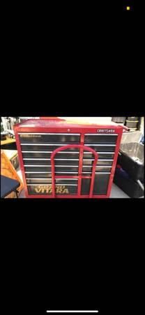 Photo craftsman 10 drawer tool cart - $400 (Santa Barbara)