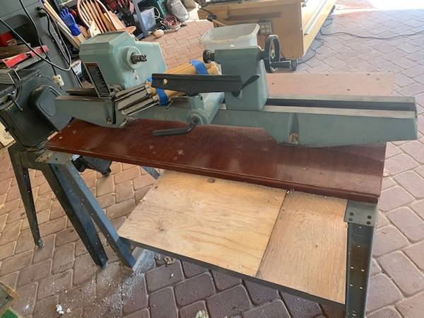 Photo delta wood lathe and sears band saw - $300 (Santa Barbara)