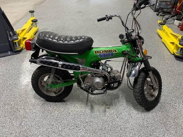 Photo 1975 Honda Trail 70 - $5,000 (Albuquerque)