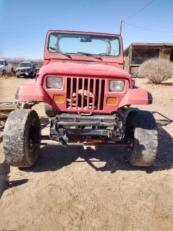 Photo 1991 Jeep YJ rock crawler, buggy,4x4,off road - $1850 (Alamosa)