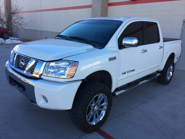 Photo 2011 NISSAN TITAN SL HEAVYMETAL CHROME EDITION - $9800 (Santa fe)