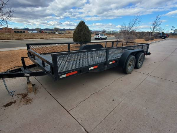 Photo 20 foot car hauler trailer - $3,300 (Espanola)