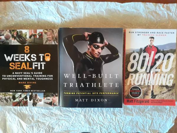 Photo 3 Workout Books - The Well-Built Triathlete, 8 Weeks to Seal Fit  80 - $6 (Las Vegas)