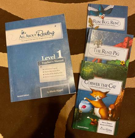 Photo All About Reading level 1 - $40 (Los Alamos)