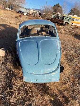 Photo Baja bug shell and pan - $600 (Santa Fe)