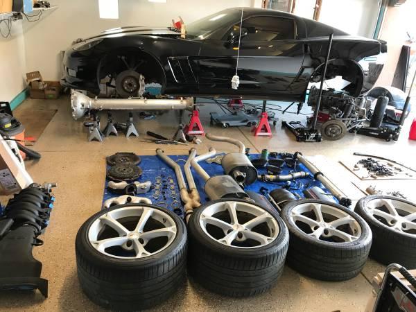 Photo C6 Corvette LS3 Parts - $100 (Santa Fe)
