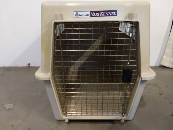 Photo Dog kennel large - $70 (Cerrillos)