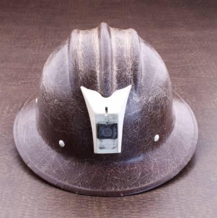 Photo E.D. Bullard USA Hard Boiled Miners Hard Hat - $175 (Santa fe)