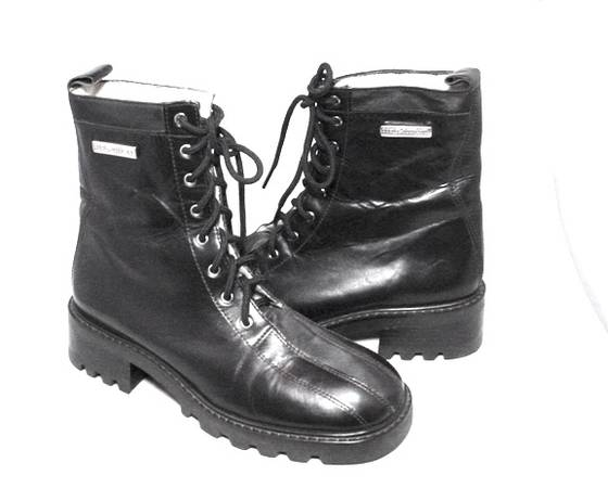 Photo Harley Davidson Boots Womens 6M New Black Leather - $60 (Santa Fe)