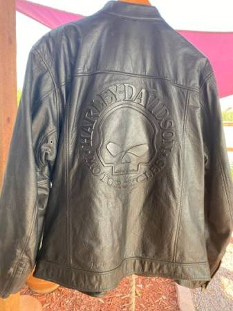 Photo Harley Davidson Willie G Mens Leather jacket Size XL - $80