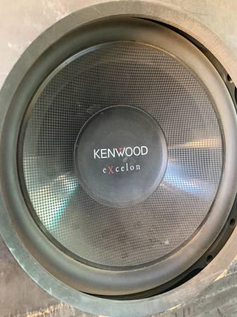 Photo Kenwood Excelon 12 subwoofer - $120 (Velarde)