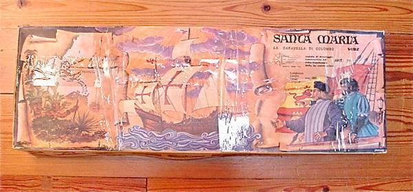Photo MANTUA Kit Santa Maria 1492 Model 775 Wooden Ship 780mm - $150 (Santa Fe)