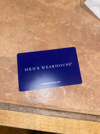 Photo Mens Warehouse Gift Card - $125 (Santa fe)