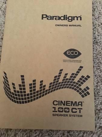 Photo Paradigm surround speakers - $180 (Los Alamos)