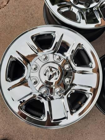 Photo Ram 2500 steel wheels - $280 (White rock)