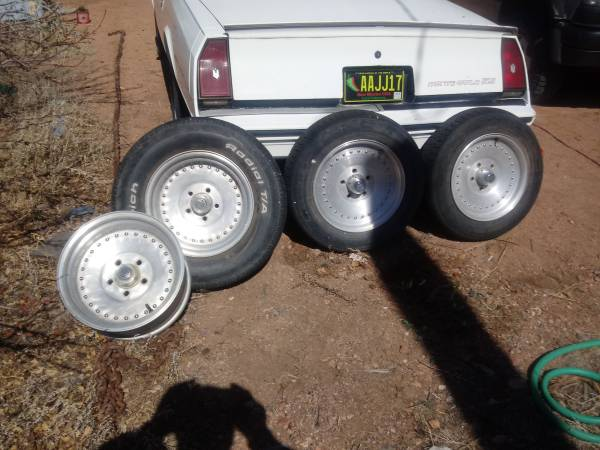 Photo Set of 15quot centerline wheels - $225 (Santa fe)