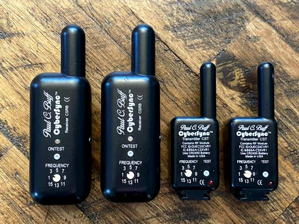 Photo Set of Paul C. Buff 2 transmitters and 2 receivers - $100 (North Gate)