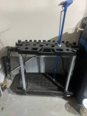 Photo Tool Holder for garage Plastic See Pictures - $29 (Albuquerque)