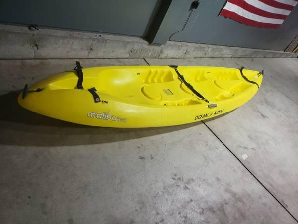 Photo Two seater kayak - $300 (Lorson Ranch)