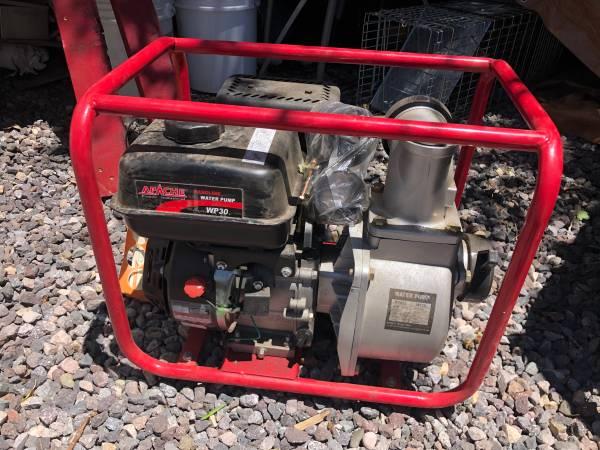 Photo Water Pump, Gas Operated - $350 (Espanola)