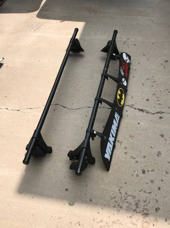 Photo Yakima roof rack and bike tray - $350 (Santa Fe)
