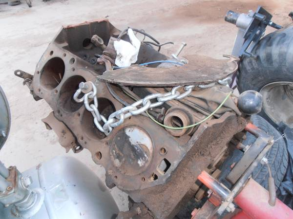 Photo chevy 454 and parts offer - $500 (angel fire, nm)