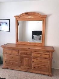 Broyhill Fontana Dresser Solid Pine