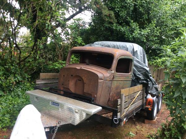 Photo 1937 CHEVY TRUCK CAB - $1,000 (BROOKINGS, OREGON)