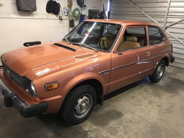 Photo 1979 Honda Civic - $9,200 (Santa Maria)