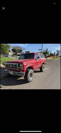Photo 1984 Ford Bronco 4x4 - $3000 (Santa Maria)