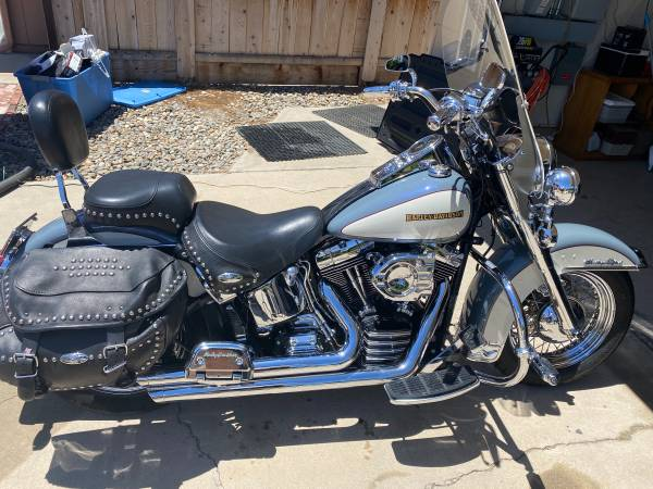 Photo 2002 Harley Davidson Heritage Classic EFI - $6,900 (Visalia)
