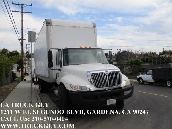 Photo 2011 INTERNATIONAL DURASTAR 4300 24 FT BOX TRUCK HIGH CUBE W LIFT GATE - $15000 (GARDENA LOS ANGELES DELIVERY)