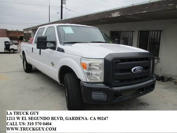 Photo 2012 FORD F350 F-350 8FT PICKUP TRUCK CREWCAB DIESEL CARB COMPLIANT - $17,500 (GARDENA)