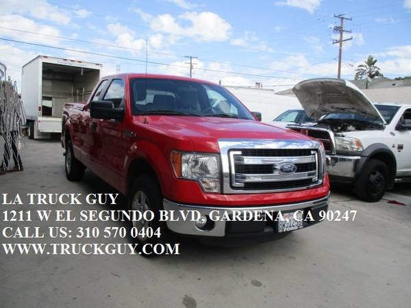 Photo 2014 FORD F150 F-150 XLT PACKAGE PICKUP TRUCK EXTENDED CAB LOW MILES - $12500 (GARDENA)