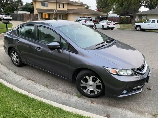 Photo 2014 Honda Civic Hybrid - $7,500 (Santa Maria)