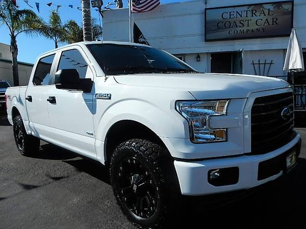 Photo 2017 FORD F-150 4X4 ECOBOOST PREMIUM WHEELS POWER RUNNING BOARDS WOW - $31995 (CENTRAL COAST CAR COMPANY)
