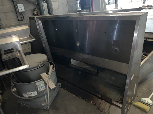 Photo $5,500 For BOTH USED HOODS  FANS COMMERCIAL RESTAURANT - $5,500 (SLO)