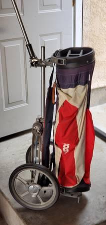 Photo BAG BOY GOLF BAG CART - $60 (santa maria)