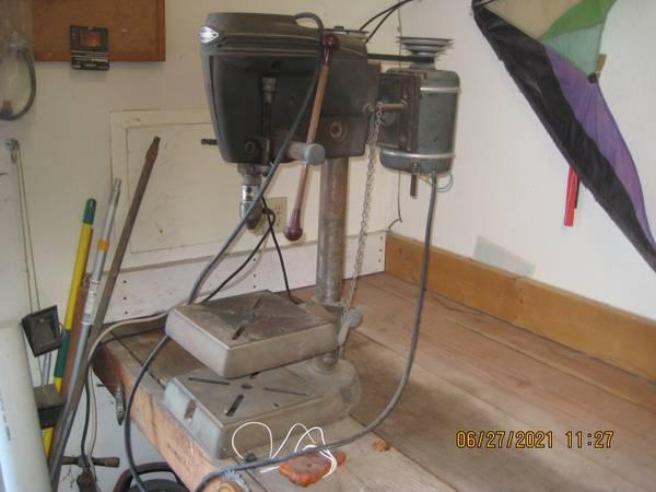 Photo Craftsman Sears Vintage Drill Press Table Top model 150 - $165 (Arroyo Grande)