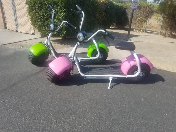 Photo Fat tire Electric Scooters - $1,100 (Santa Maria)