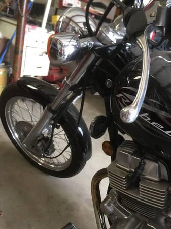 Photo Honda Rebel 250 - $4,000 (Santa Maria)